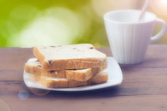 Breakfast coffee Stock Images