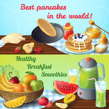 Breakfast Colored Concepts Royalty Free Stock Photography