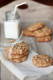 Breakfast cookies Stock Images