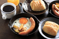 Breakfast for a couple Stock Image