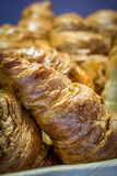 Breakfast croissants Stock Images