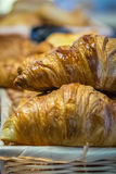 Breakfast croissants Royalty Free Stock Photography