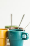 Breakfast cups Royalty Free Stock Photos