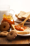 Breakfast. Delicious and healthy Stock Image