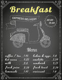 Breakfast delivery Royalty Free Stock Photos
