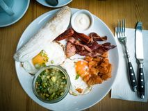 Time to breakfast royalty free stock photo