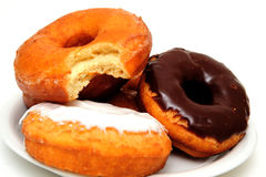 Breakfast Doughnut Stock Image