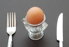 Breakfast egg Stock Photos