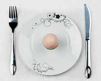Breakfast egg Royalty Free Stock Photo