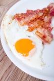 Breakfast - egg, bacon Royalty Free Stock Photography
