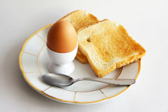 Breakfast with egg Royalty Free Stock Image