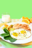 Breakfast eggs Royalty Free Stock Images