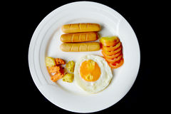 Breakfast eggs Royalty Free Stock Photography