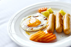 Breakfast eggs royalty free stock photography