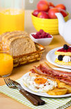 Breakfast, eggs and bacon Royalty Free Stock Photography
