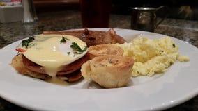 Breakfast eggs morning meal Stock Image