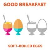 breakfast. 1205. elements. 05 Stock Photography