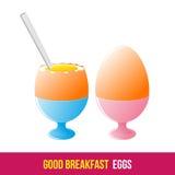Breakfast. 1205. elements. 05 Royalty Free Stock Photo