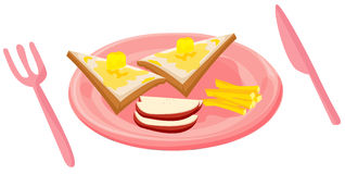 Breakfast food Stock Image