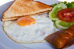 Breakfast food Royalty Free Stock Images