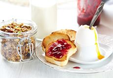 Breakfast food Royalty Free Stock Image