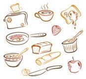Breakfast, food Royalty Free Stock Image