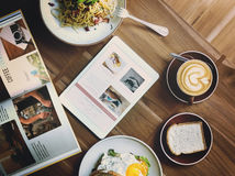 Breakfast Food Delicious Food and Beverages Quality Concept.  royalty free stock photo