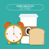 Breakfast food design Stock Image