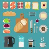 Breakfast food. Stock Image