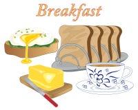 Breakfast food Stock Photography