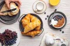 Free Breakfast Food Setting Stock Image - 196253531