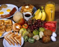 Breakfast Foods Stock Photos