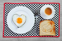 Breakfast For A Loved One Royalty Free Stock Images