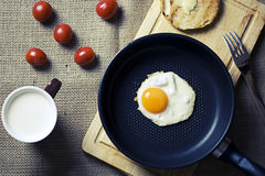 Breakfast Fried Egg royalty free stock photography