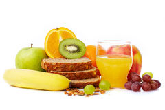 Breakfast fruit Stock Photography
