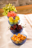Breakfast Fruits. Fruits at breakfast for healthy eating and nutrition Stock Photos