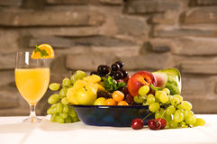 Breakfast Fruits. Fruits at breakfast for healthy eating and nutrition Royalty Free Stock Photography