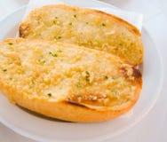 Breakfast,Gourmet Italian Bun, - Bruschetta Royalty Free Stock Images