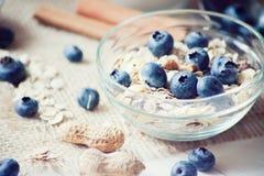 Breakfast with granola Royalty Free Stock Photos