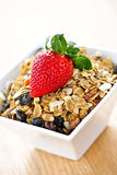 Breakfast granola cereal Royalty Free Stock Photography