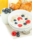 Breakfast - healthy eating Stock Photography