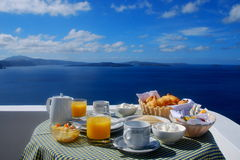 Breakfast in the heavens Royalty Free Stock Images