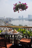 Breakfast In Ho chi Minh City, Vietnam Royalty Free Stock Image