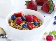 Breakfast homemade granola Royalty Free Stock Photo
