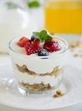 Breakfast homemade granola Stock Photo