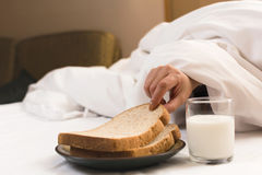Breakfast in hotel Stock Photography