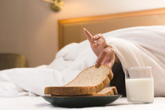 Breakfast in hotel Stock Photos