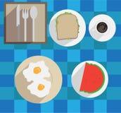 Breakfast Icon Stock Image