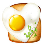 Breakfast illustration Stock Images