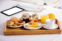 Free Breakfast In Bed Royalty Free Stock Photo - 102158775